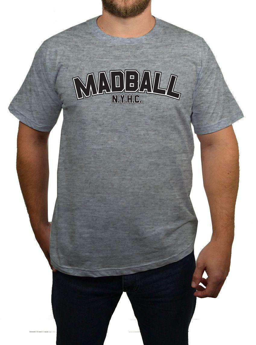 Camiseta Madball - NYHC - Cinza Mescla  - HShop