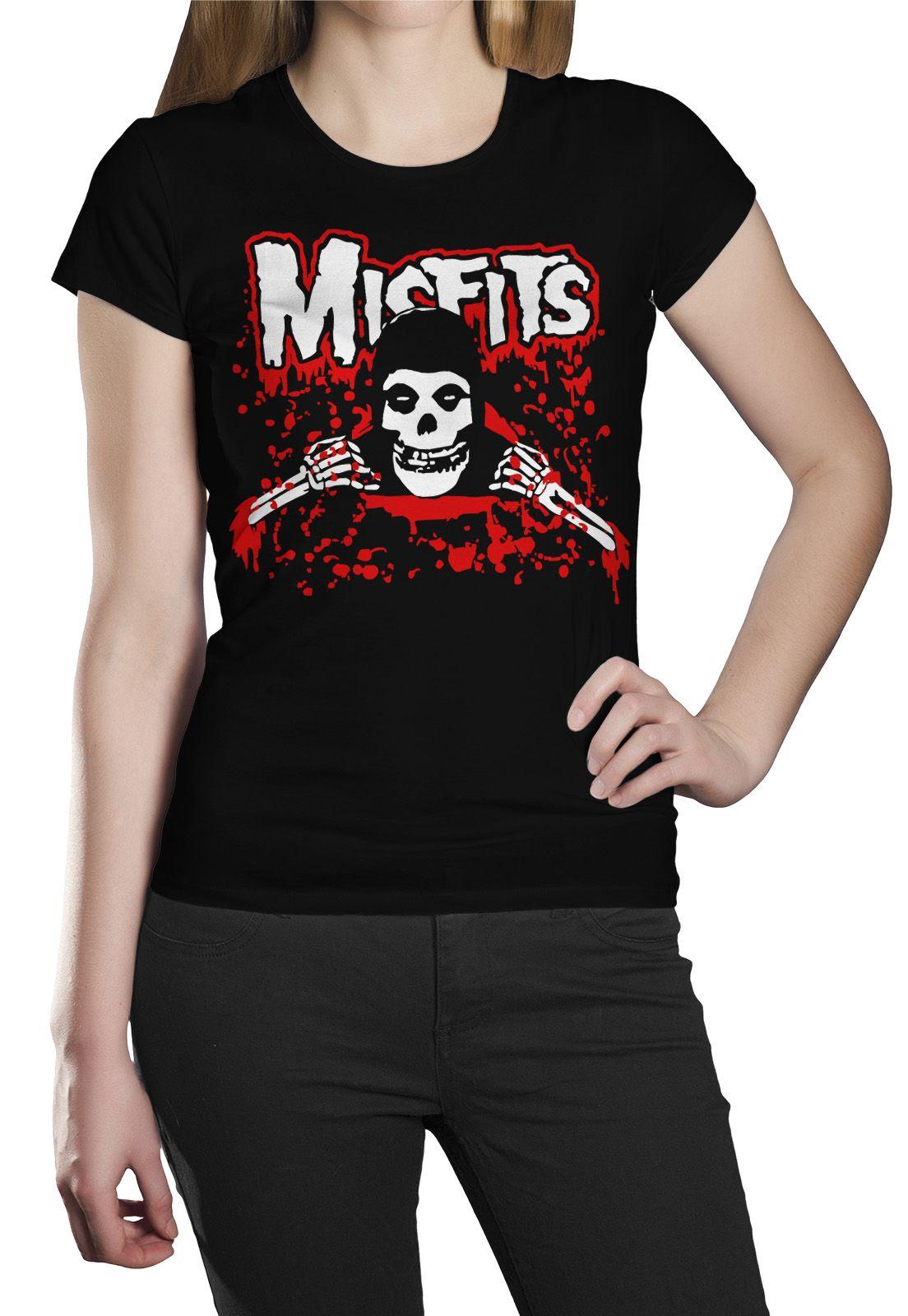 Camiseta Misfits Blood - 007  - HShop