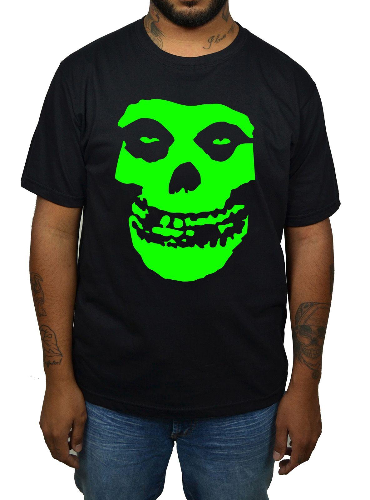 Camiseta Misfits Crimson Ghost - 009  - HShop