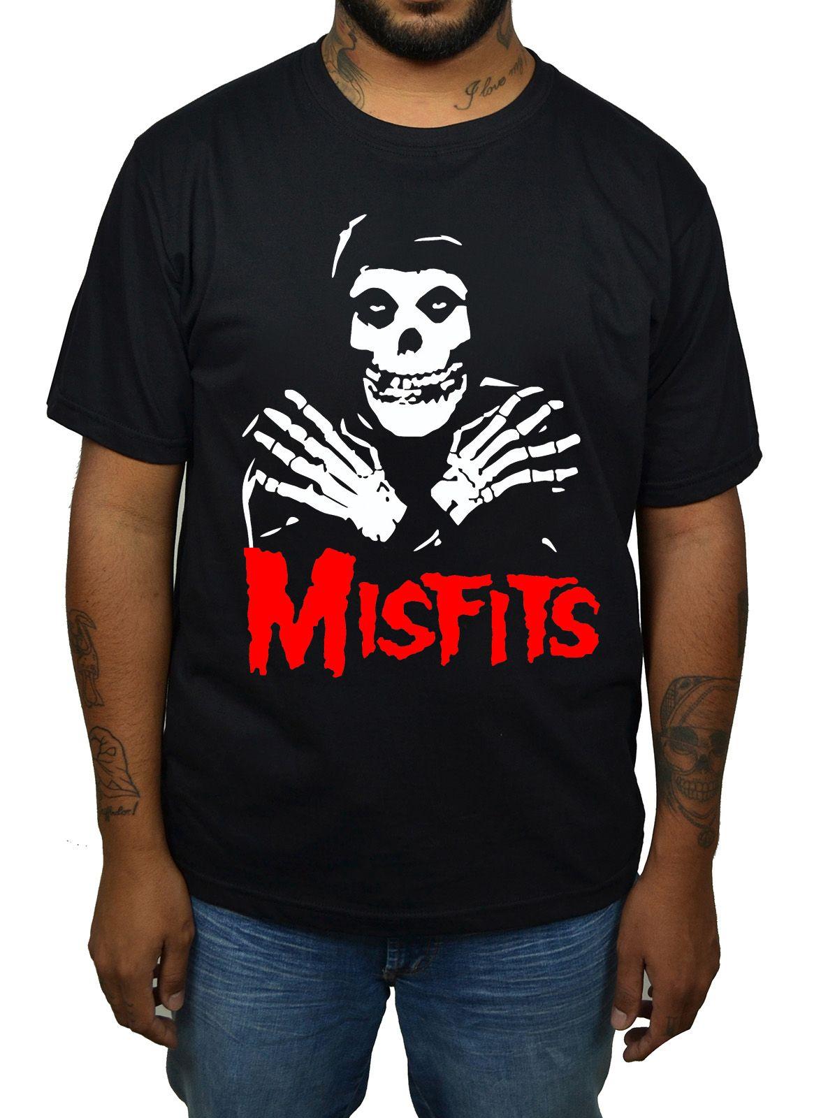 Camiseta Misfits Dead - 014  - HShop