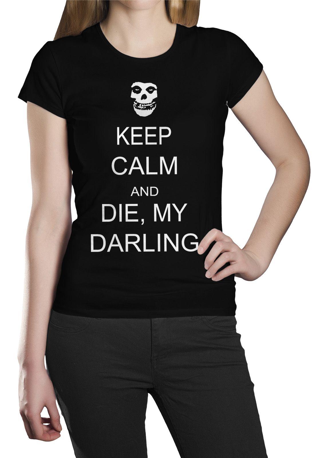 Camiseta Misfits Die Die My Darling - 001  - HShop