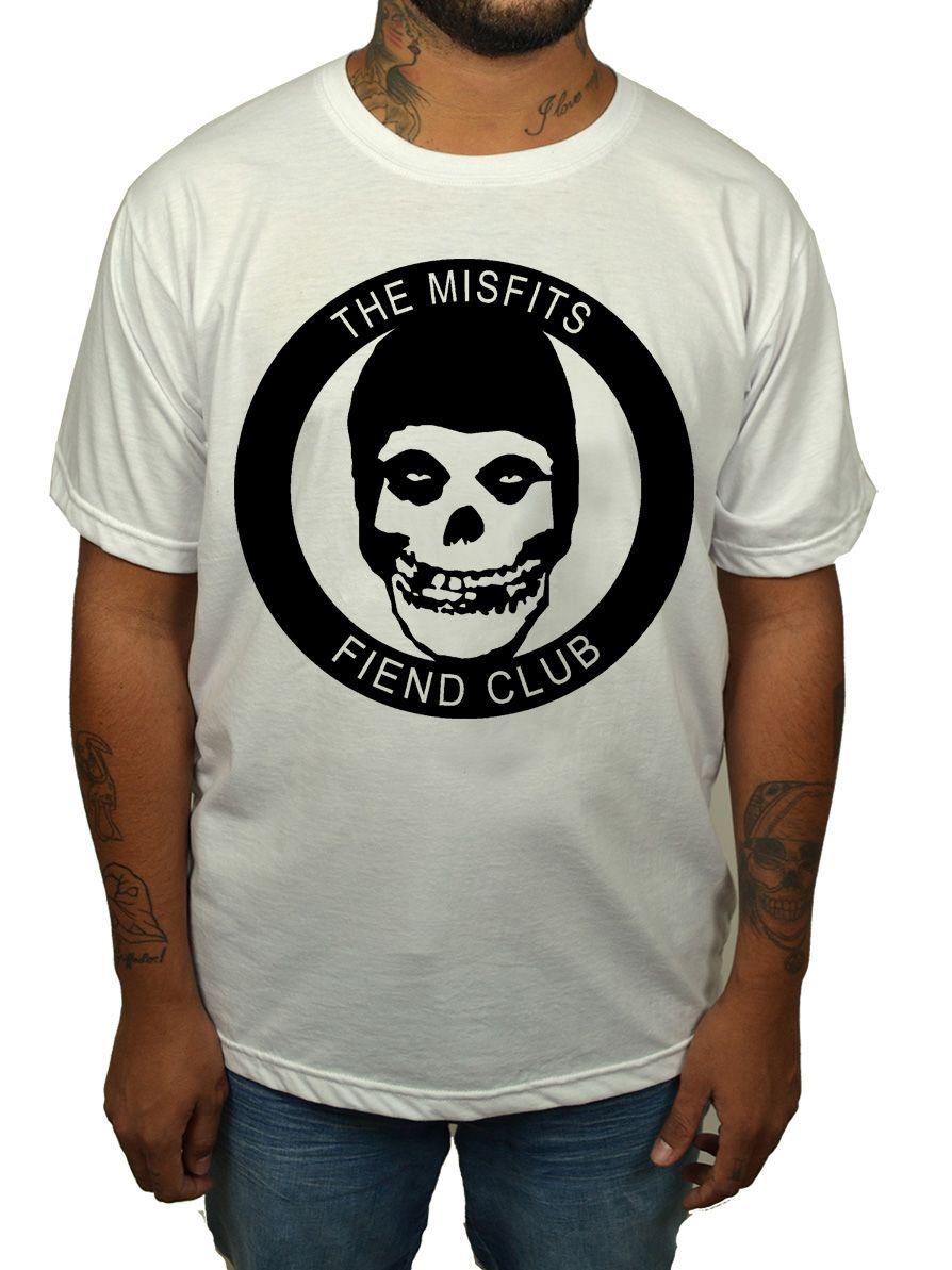 Camiseta Misfits Fiend Club - 011  - HShop