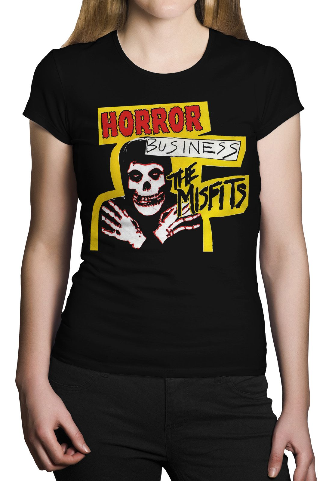 Camiseta Misfits Horror Business - 004  - HShop