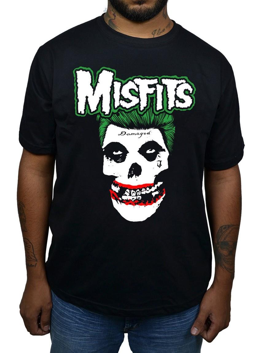 Camiseta Misfits Joker - 074  - HShop