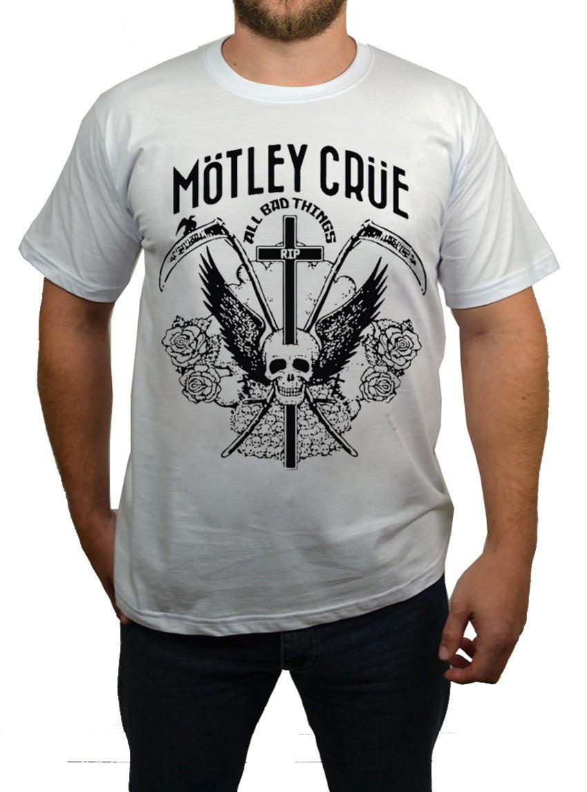 Camiseta Motley Crue  - HShop