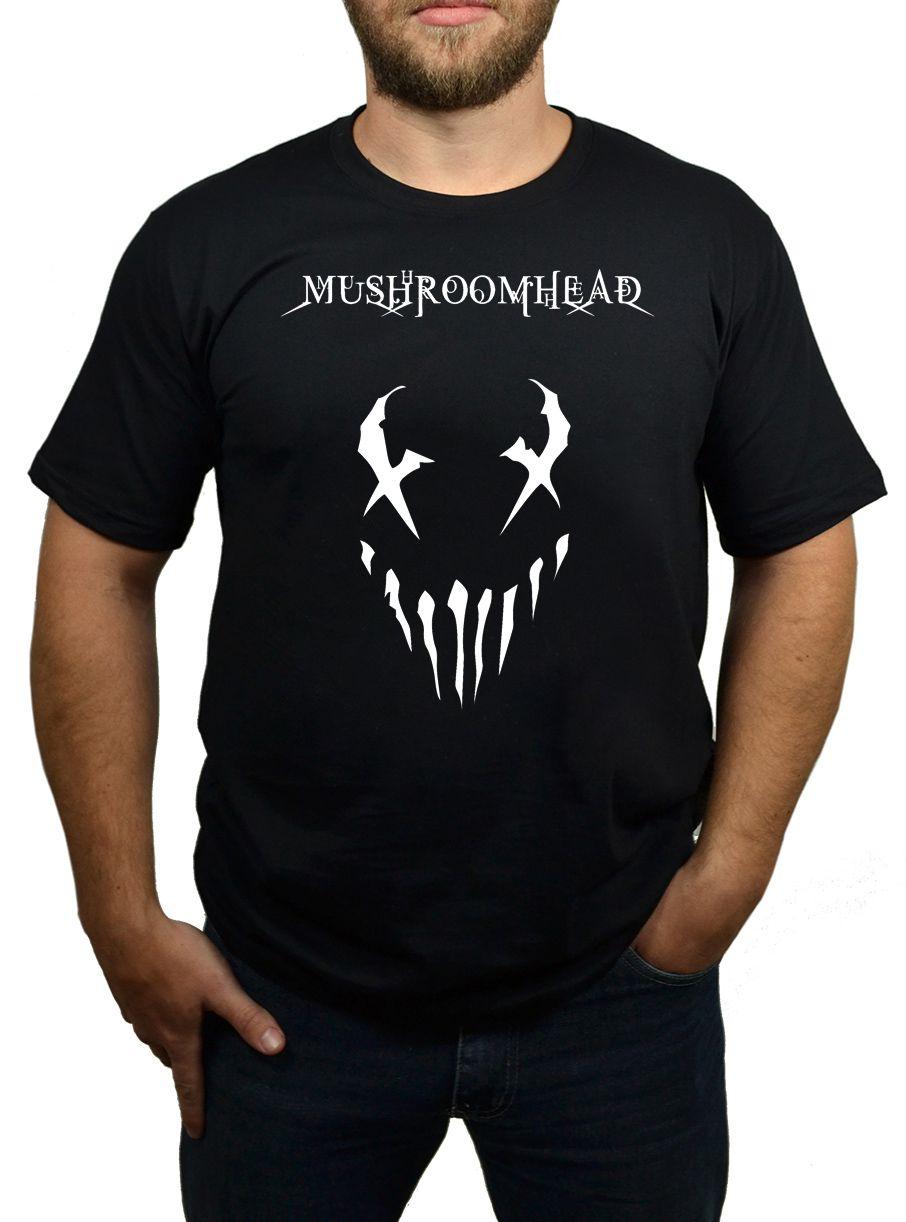Camiseta Mushroomhead - Preta  - HShop
