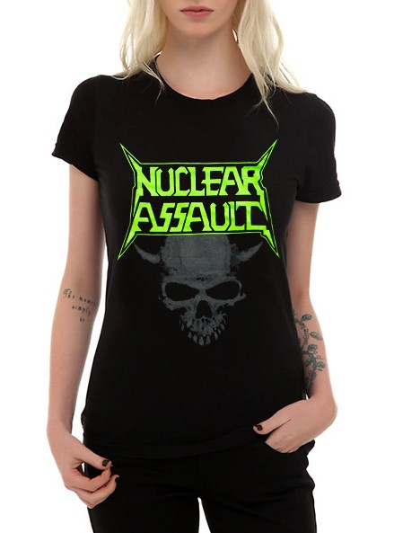 Camiseta Nuclear Assault  - HShop