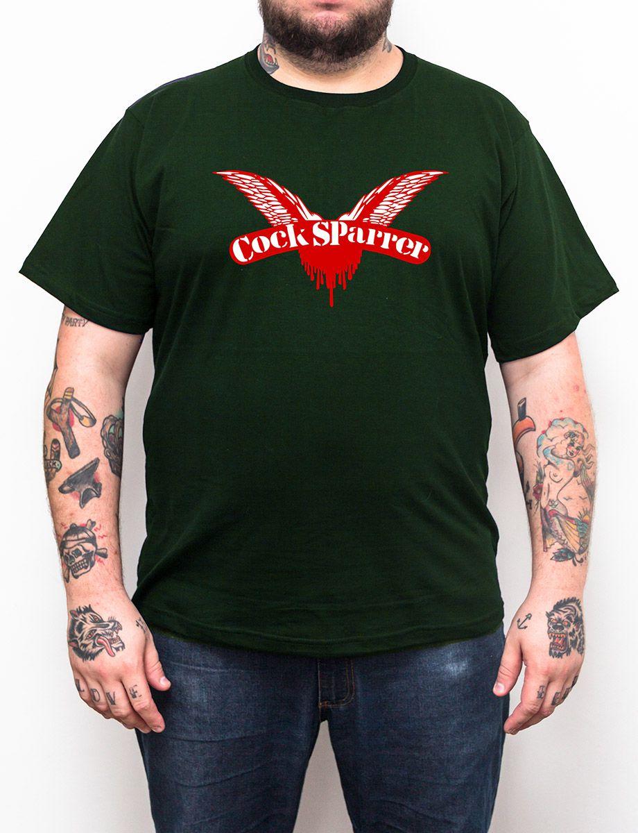 Camiseta Plus Size Cock Sparrer - Escolha a Cor  - HShop