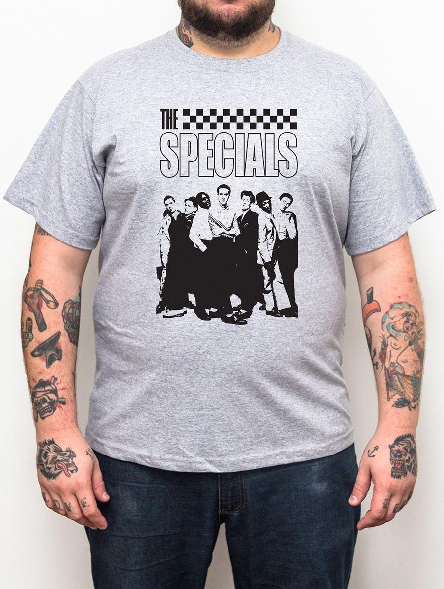 Camiseta Plus Size The Specials Banda - Tamanho XG  - HShop