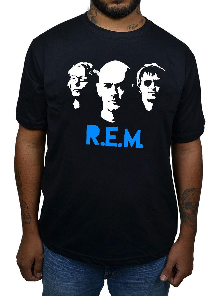 Camiseta R.E.M.  - HShop