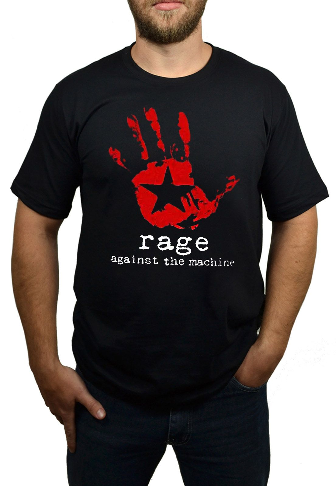 Camiseta Rage Against The Machine - Preto  - HShop