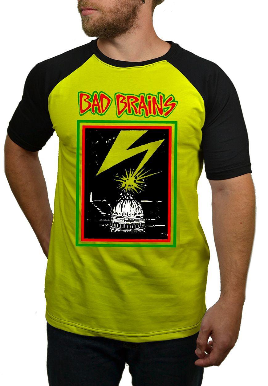 Camiseta Bad Brains - Raglan  - HShop