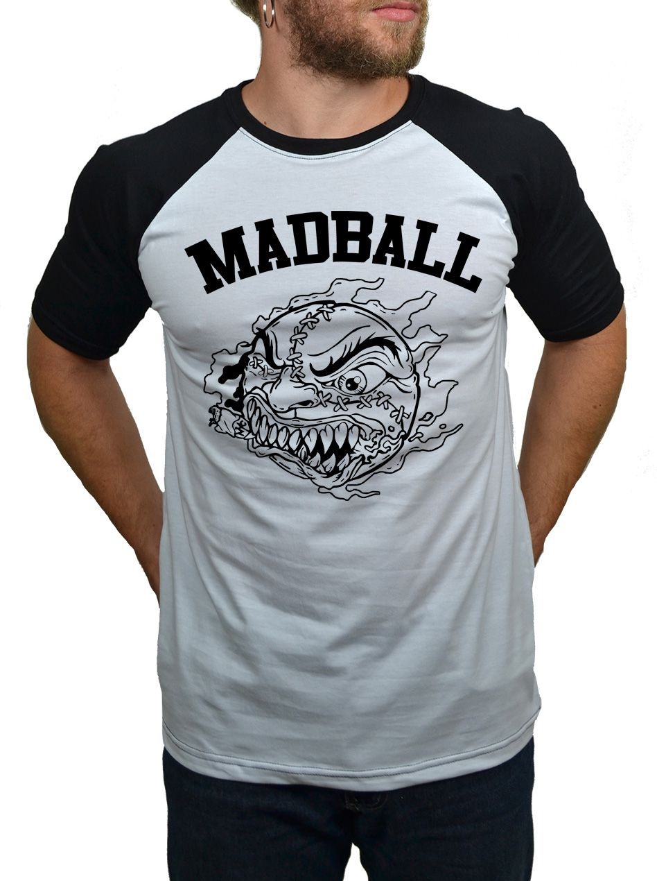 Camiseta Raglan Madball  - HShop