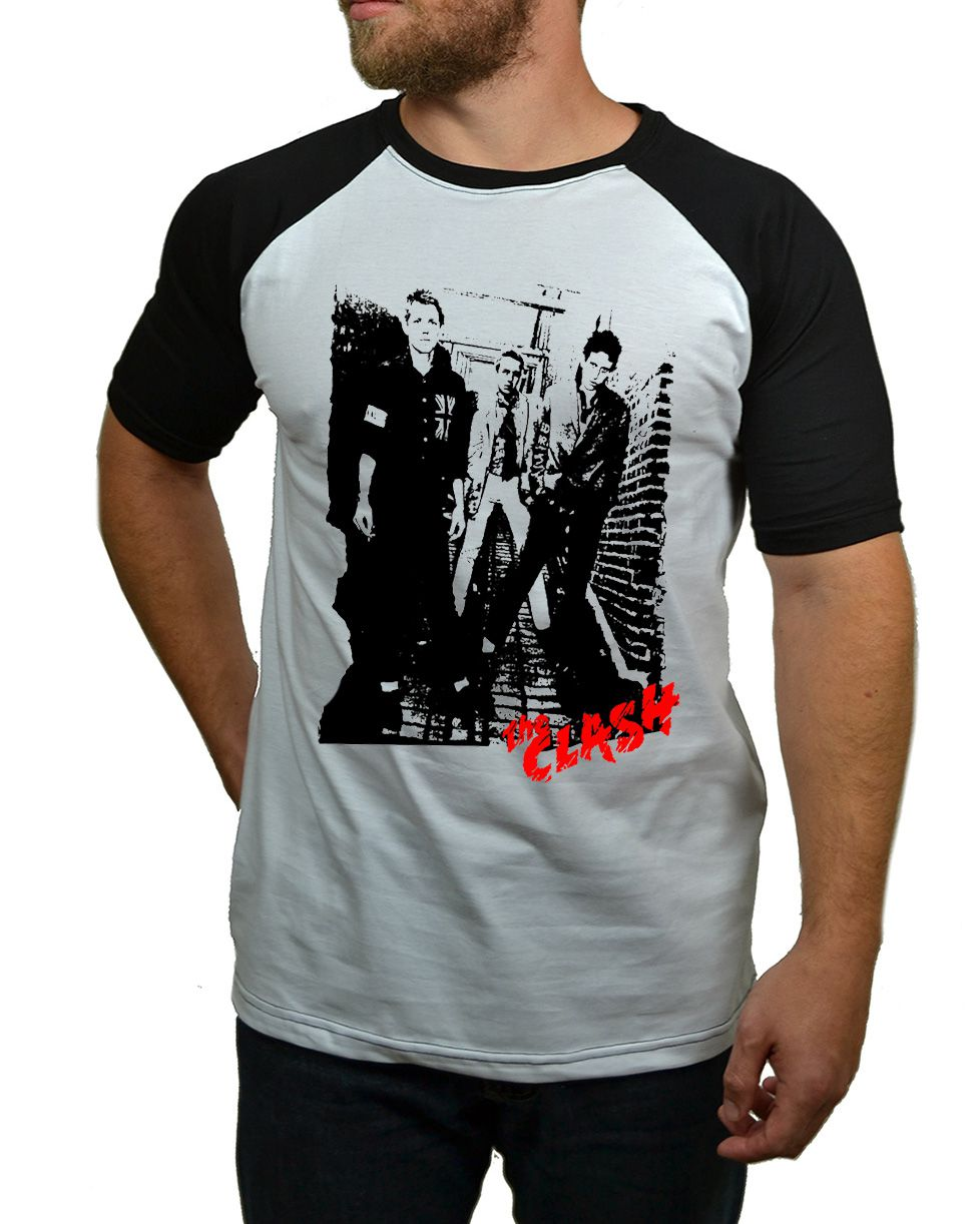 Camiseta The Clash - Raglan  - HShop
