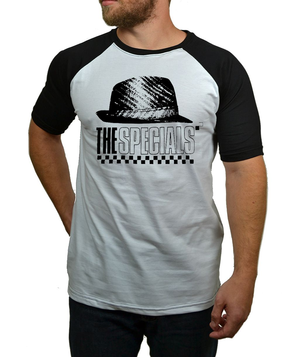 Camiseta The Specials Hat - Raglan  - HShop
