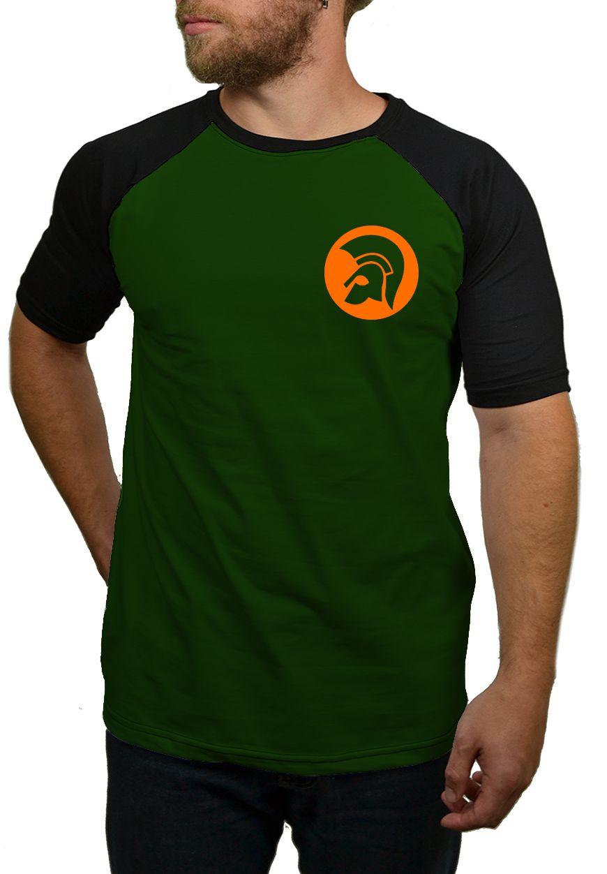 Camiseta Raglan Trojan Recods  - HShop