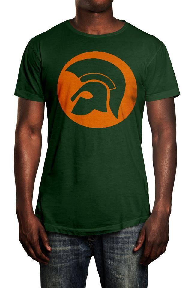 Camiseta Ska Trojan Verde Musgo  - HShop