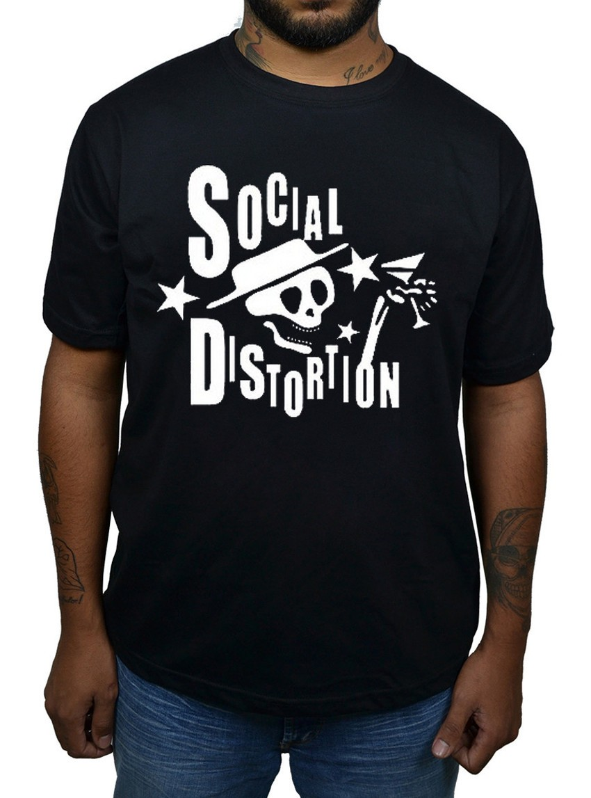 Camiseta Social Distortion  - HShop