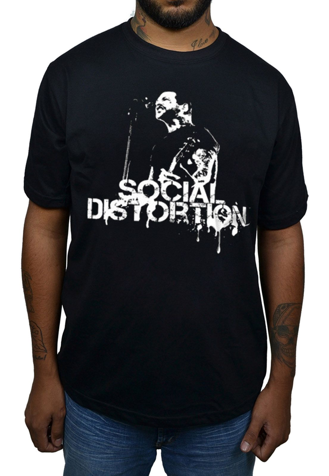 Camiseta Social Distortion - Mike Ness  - HShop