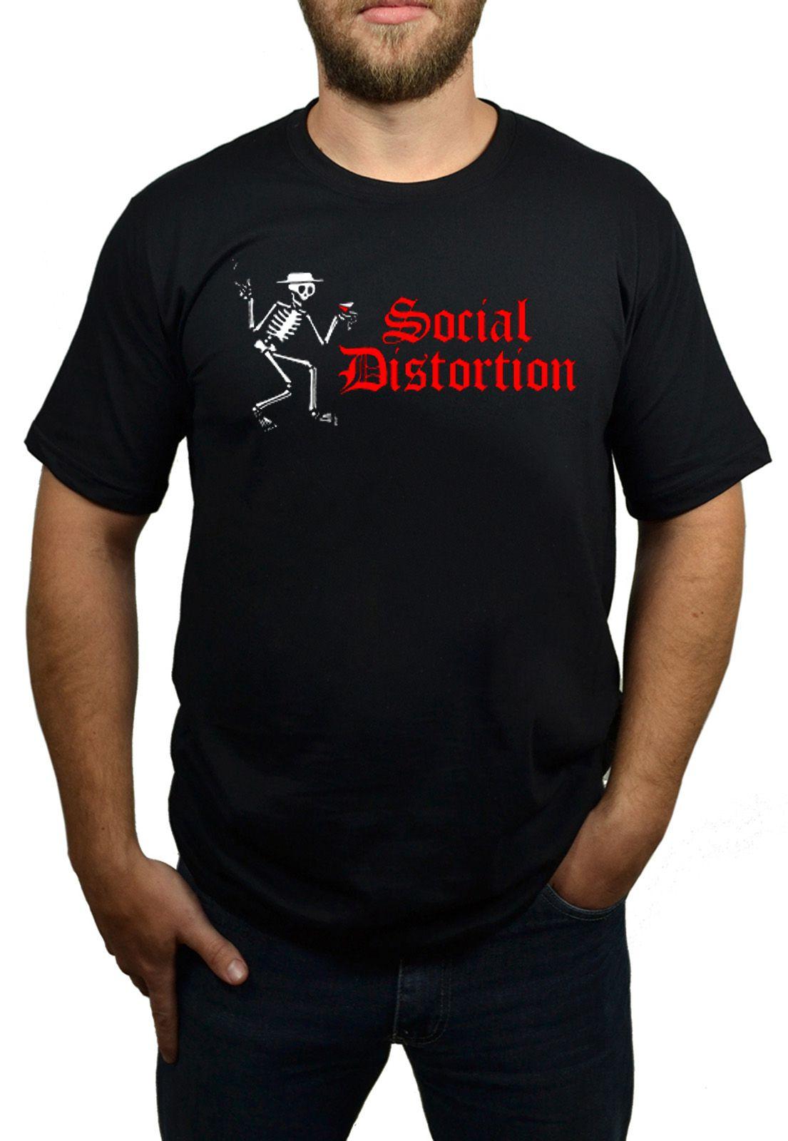 Camiseta Social Distortion - Tamanho M  - HShop