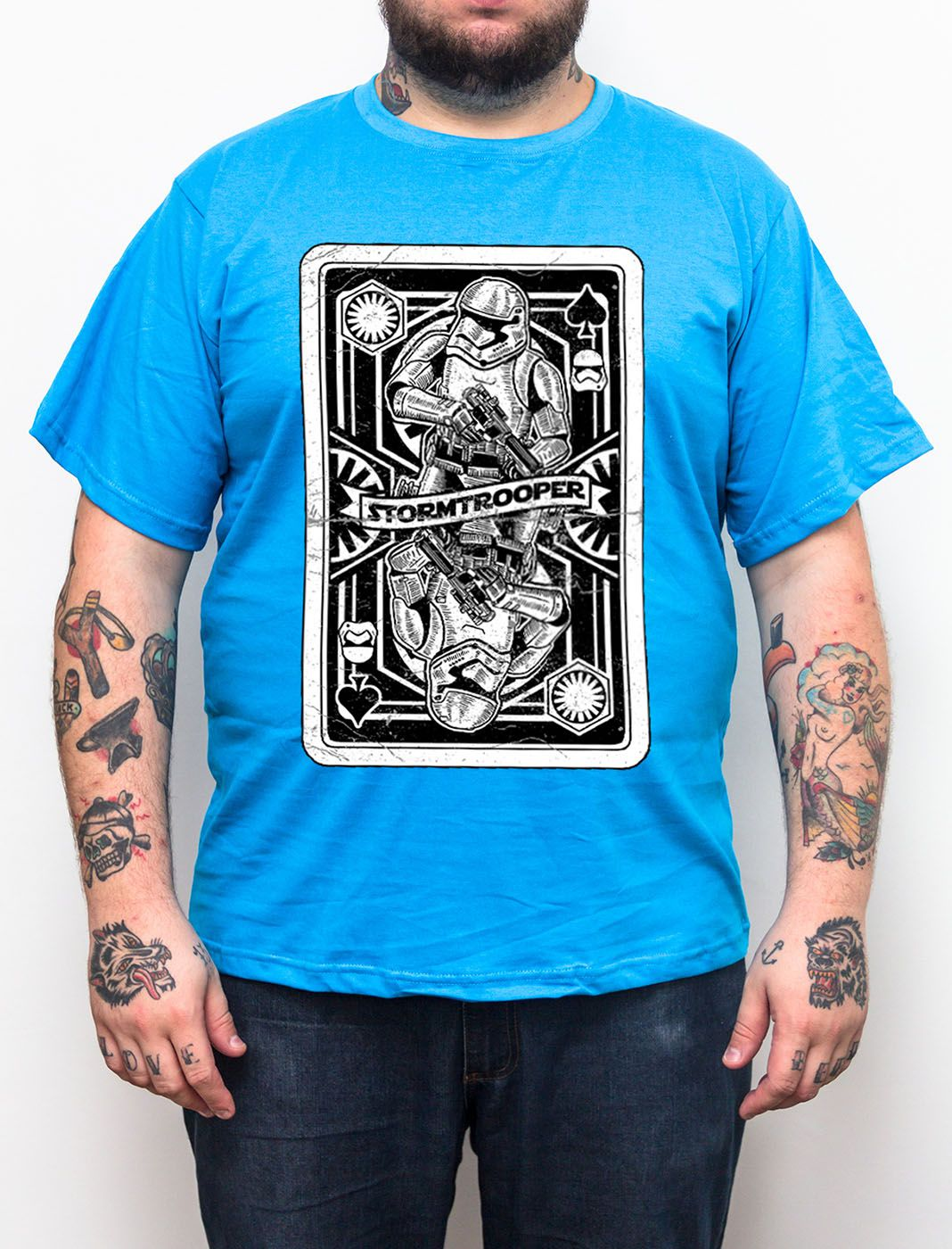 Camiseta Stormtrooper - Plus Size - Tamanho XG  - HShop