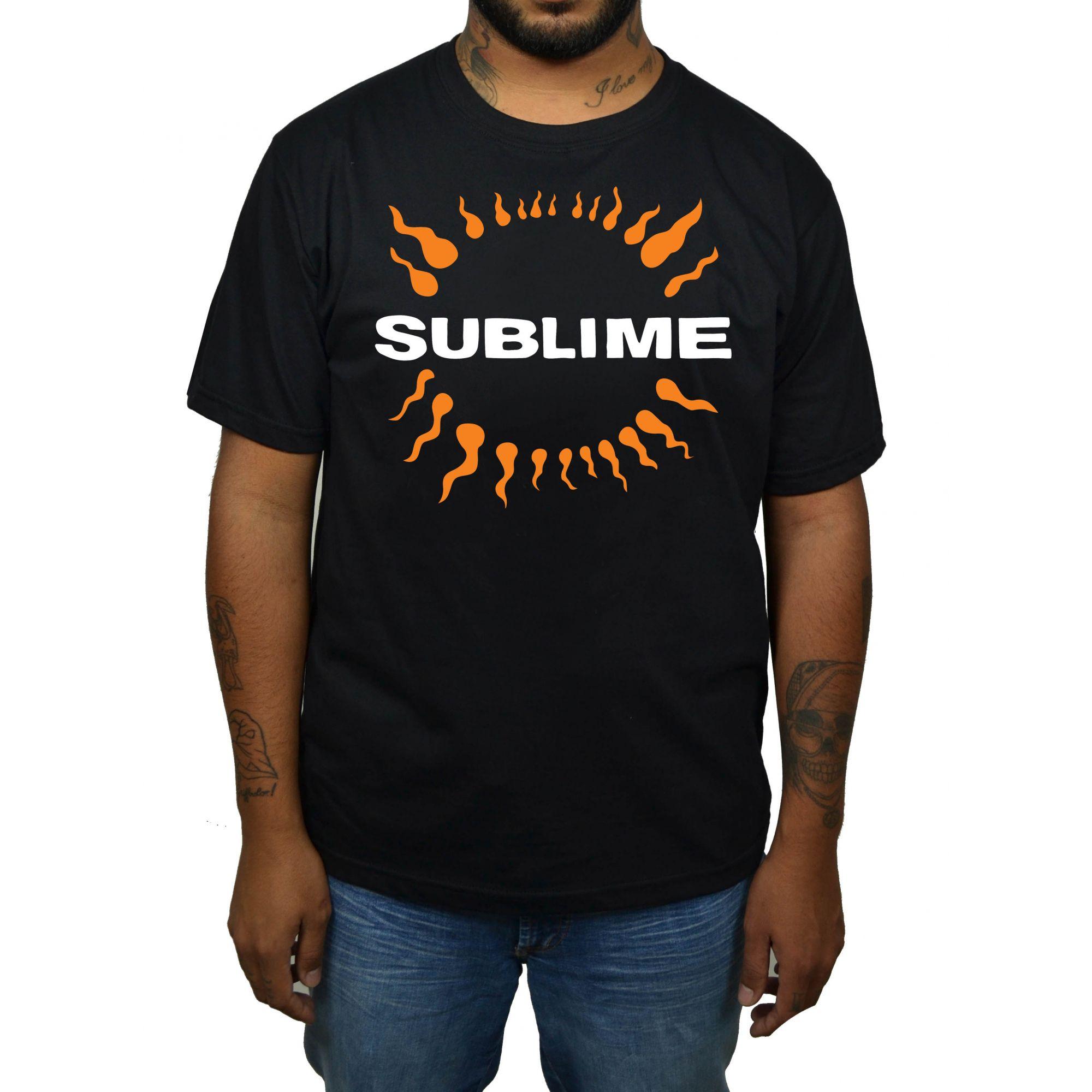 Camiseta Sublime - Preta  - HShop