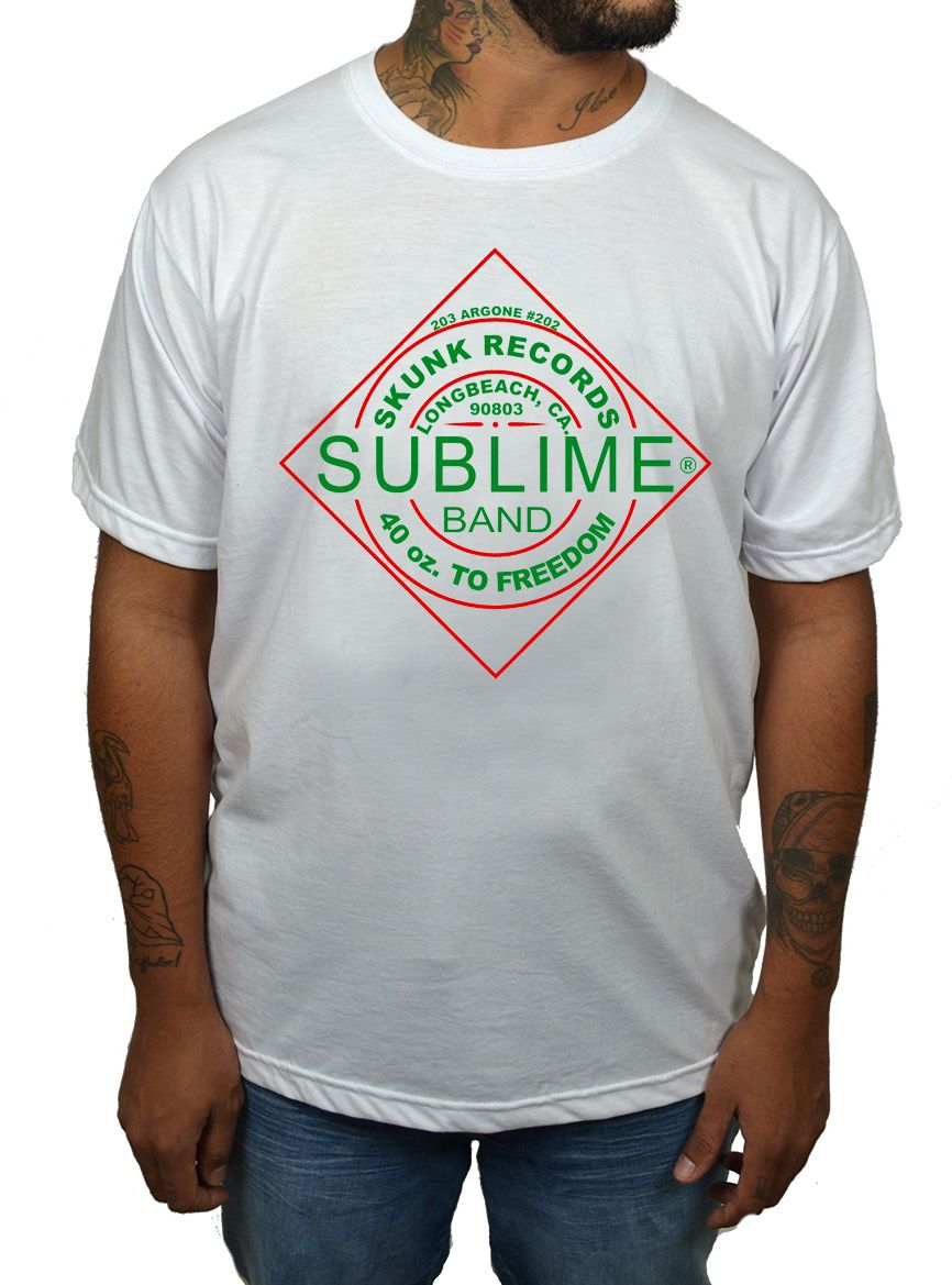 Camiseta Sublime Tabasco - Branco - HShop