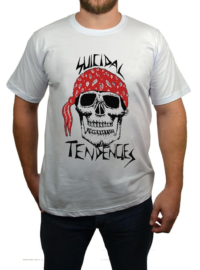 Camiseta Suicidal Tendencies Caveira  - HShop