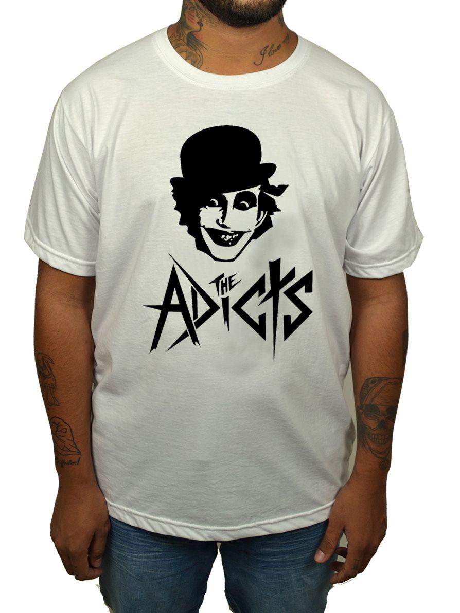 Camiseta The Adicts - Branca  - HShop