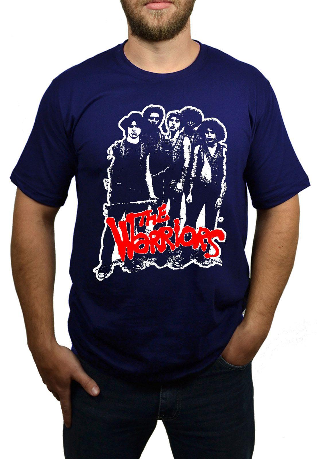 Camiseta The Warriors Azul Marinho  - HShop
