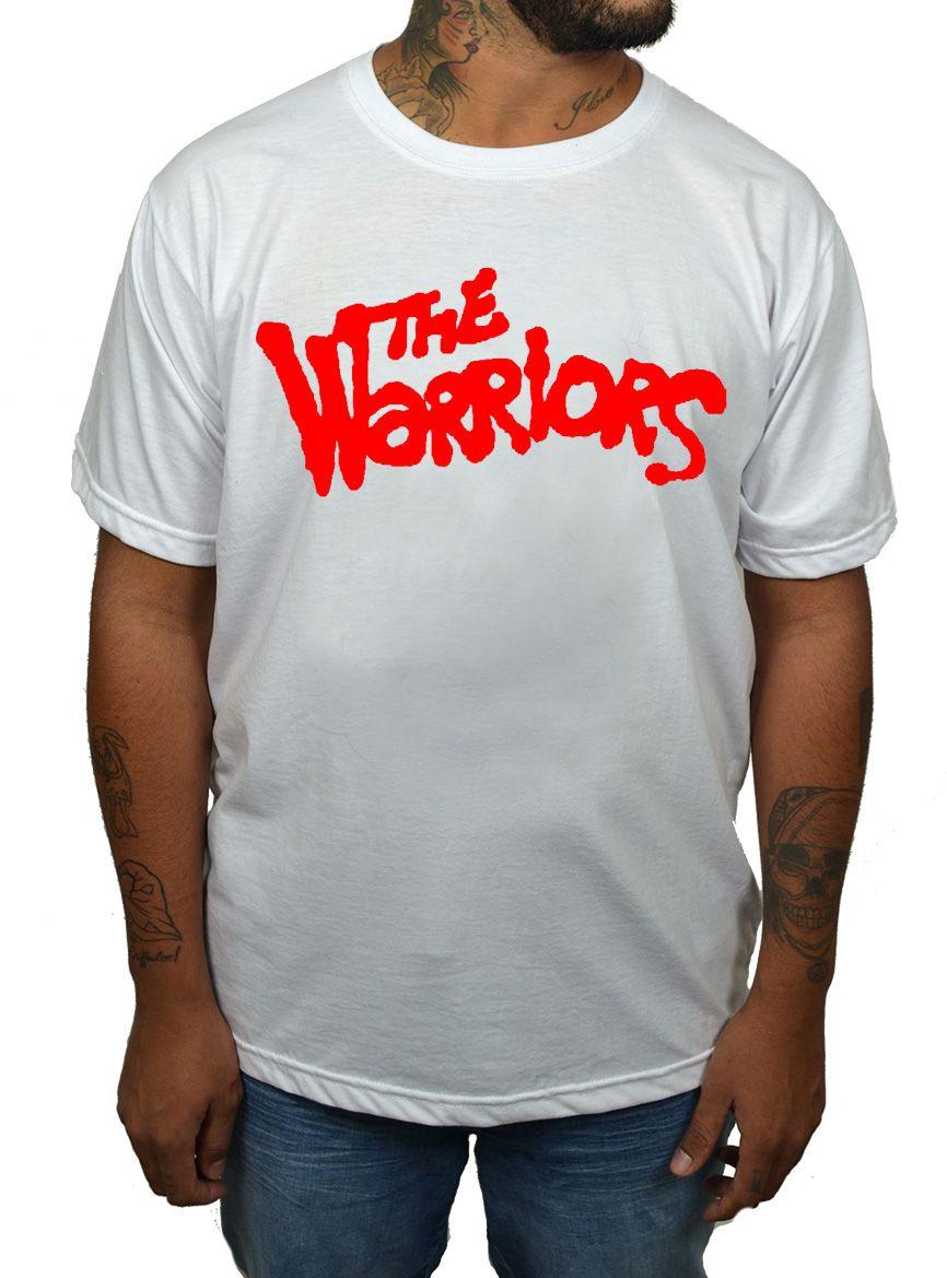 Camiseta The Warriors Branco - 323  - HShop