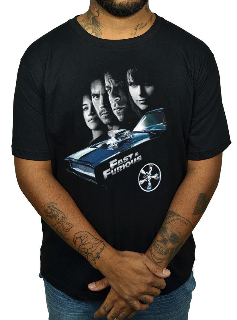 Camiseta Velozes e Furiosos - Preto  - HShop