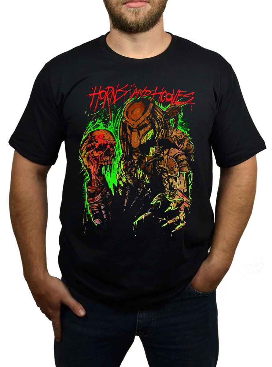 Camiseta Predador - Preto  - HShop