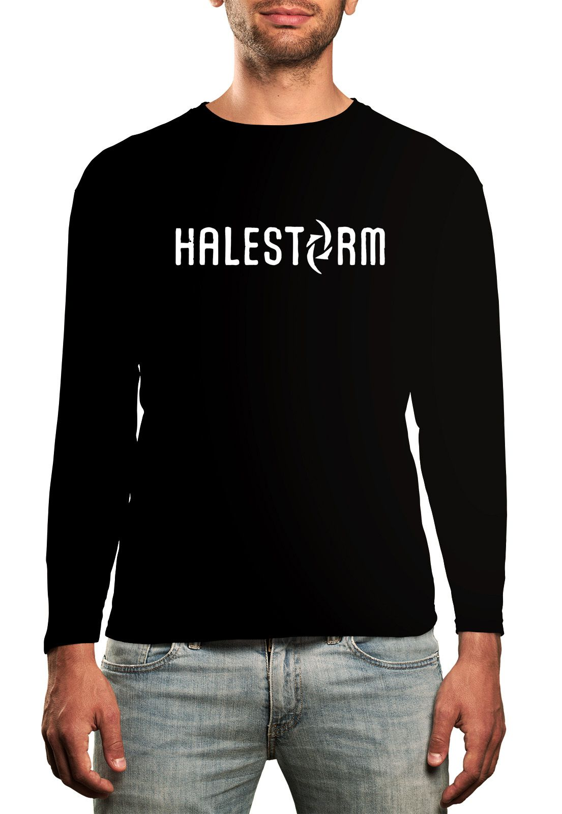 Manga Longa Halestorm - Preto  - HShop