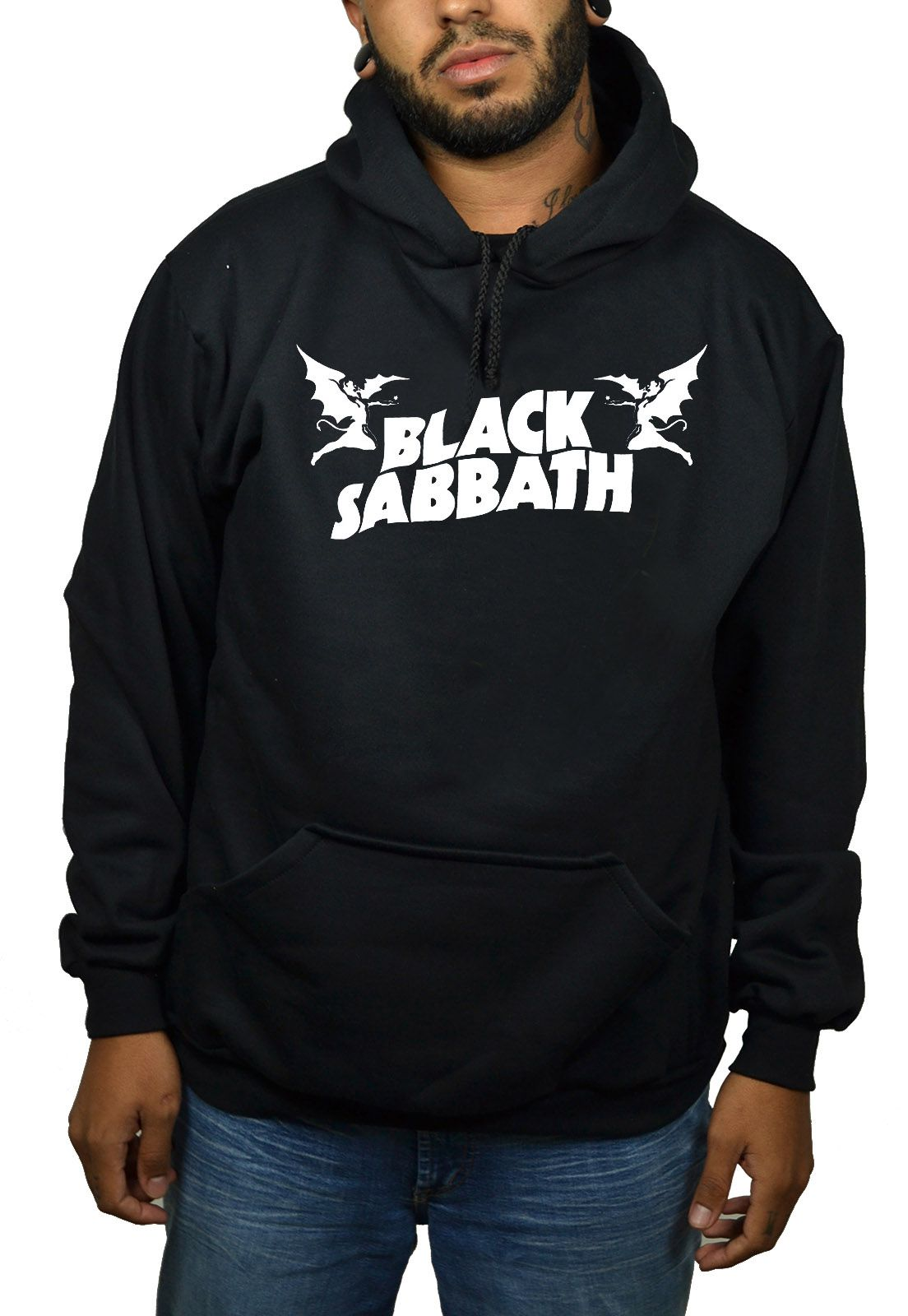 Moletom Black Sabbath - Demon - Preto  - HShop
