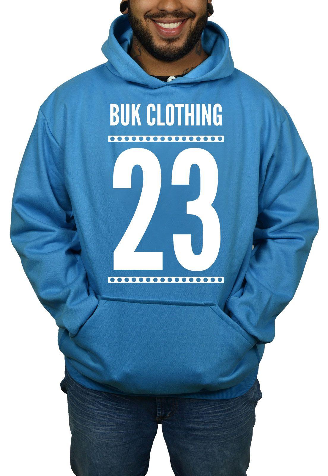 Moletom BUK 23 - Azul Turquesa  - HShop