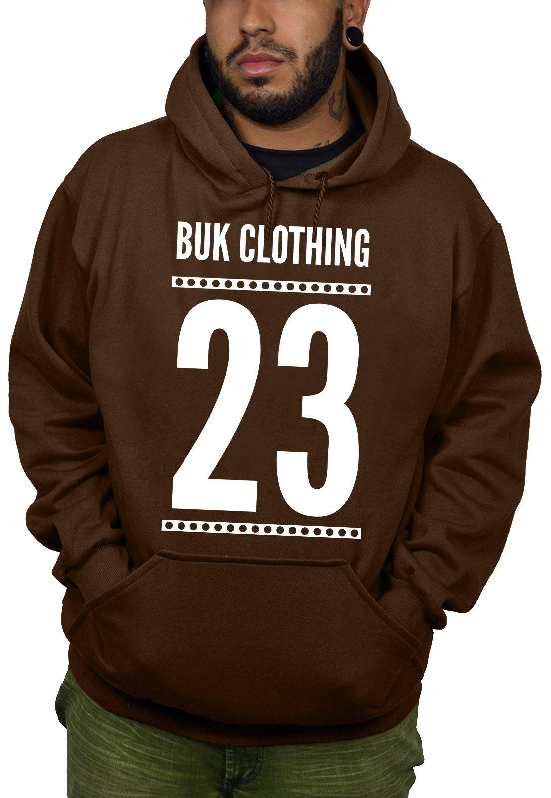 Moletom BUK 23 - Marrom  - HShop