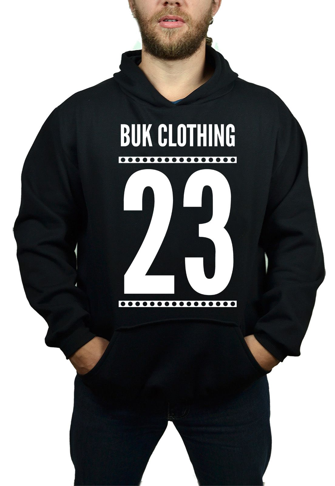 Moletom BUK 23 - Preto  - HShop