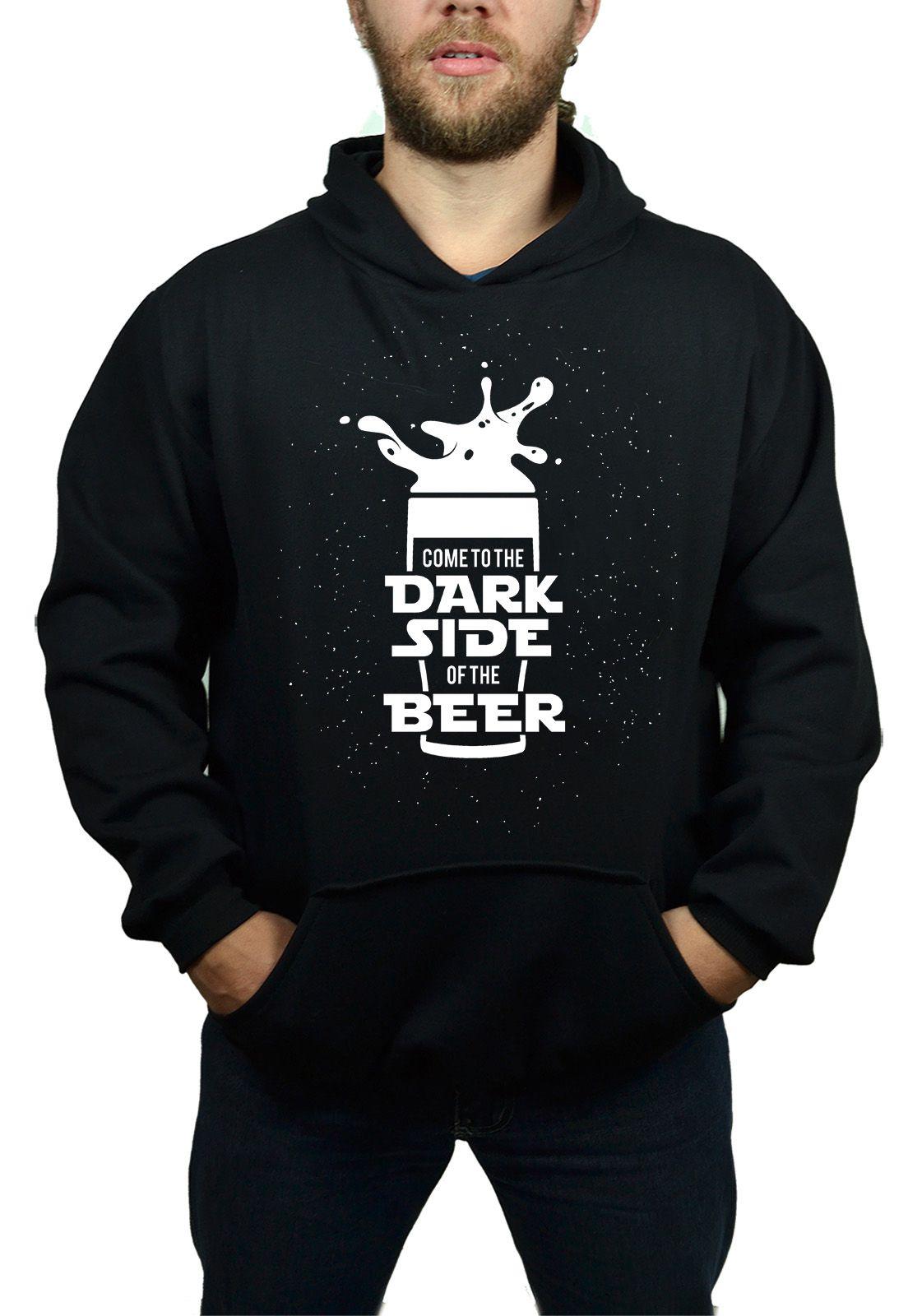 Moletom BUK Dark Side Beer - Preto  - HShop