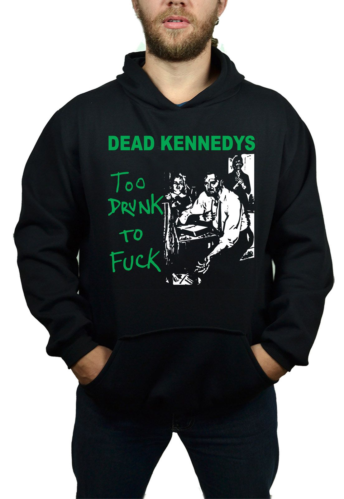 Moletom Dead Kennedys Too Drunk  - HShop