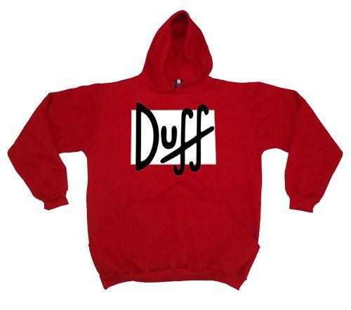 Moletom Duff Vermelho  - HShop