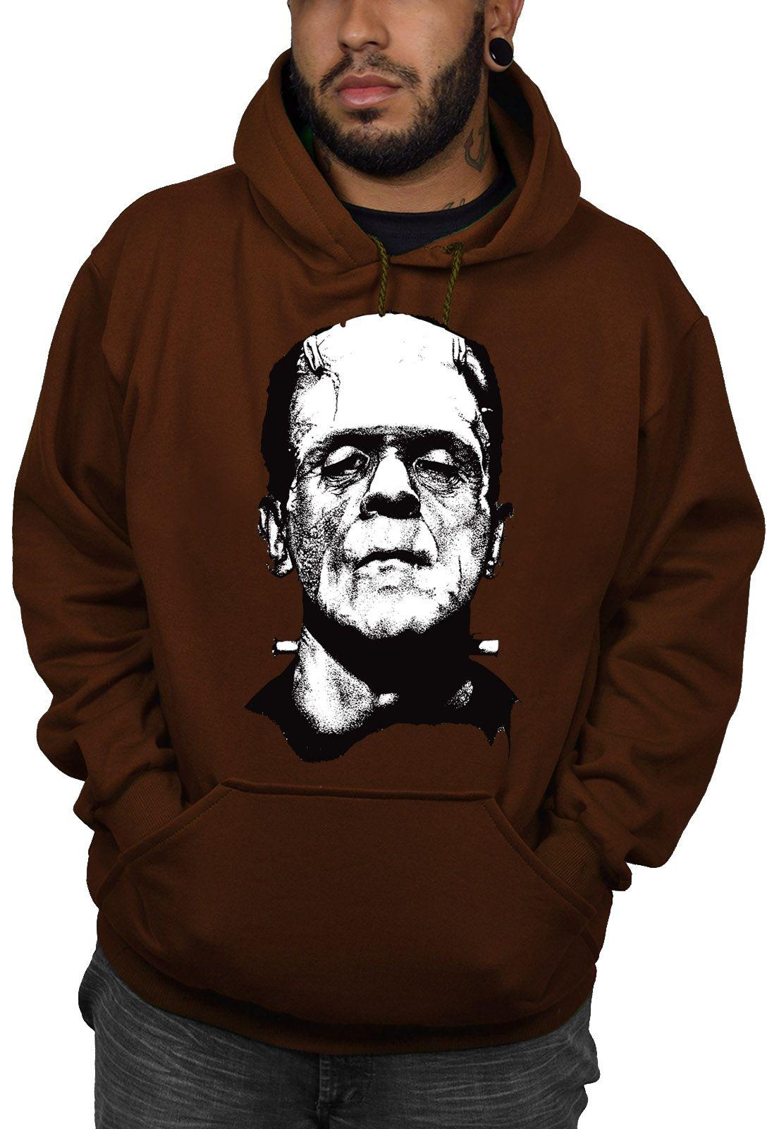 Moletom Frankenstein Marrom  - HShop