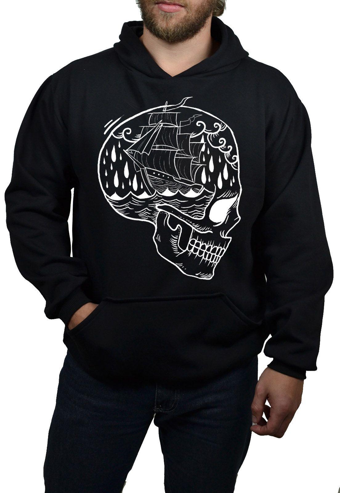 Moletom Holdfast Skull Ship - Preto  - HShop