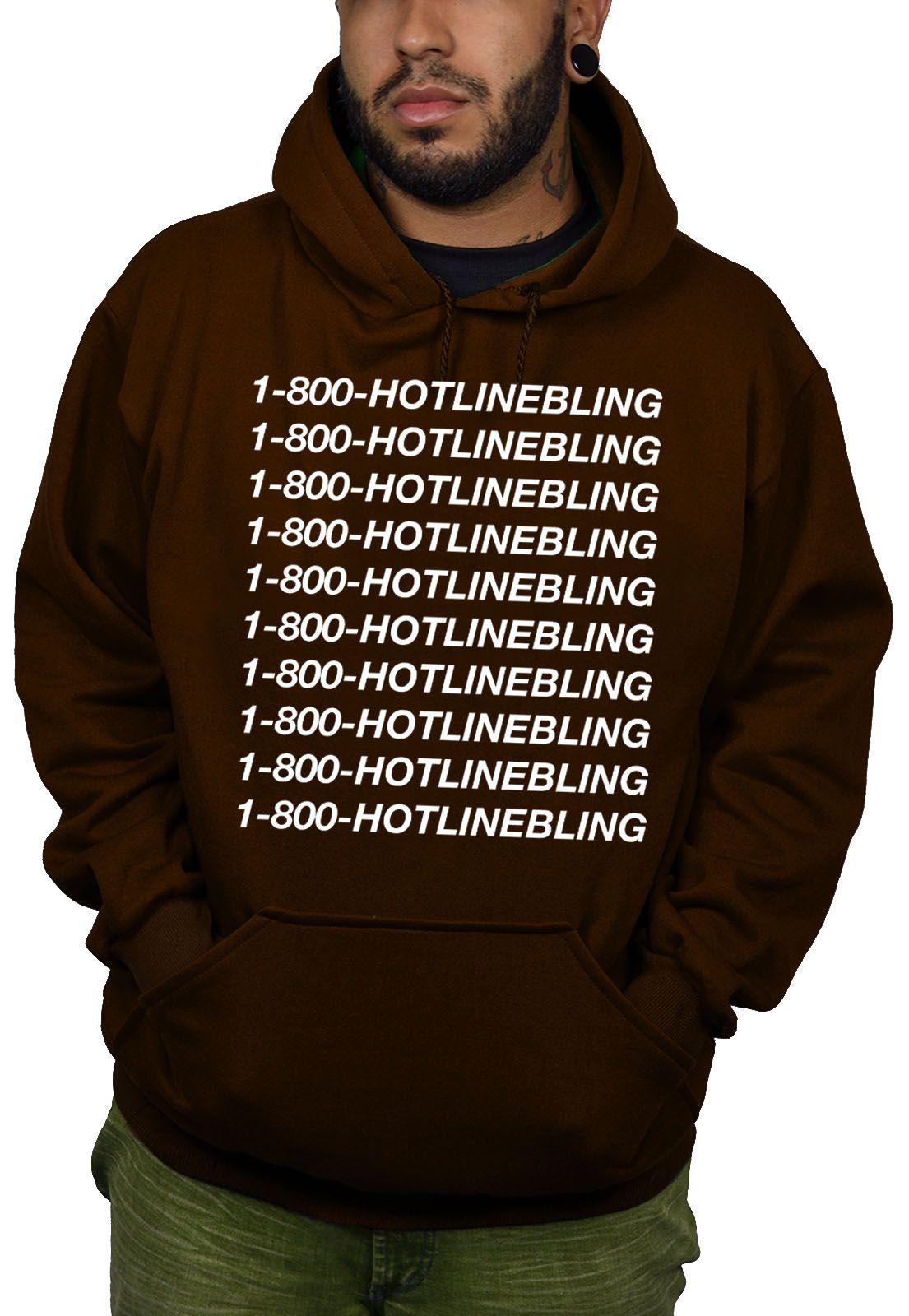 Moletom BUK Hotlinebling - Marrom  - HShop