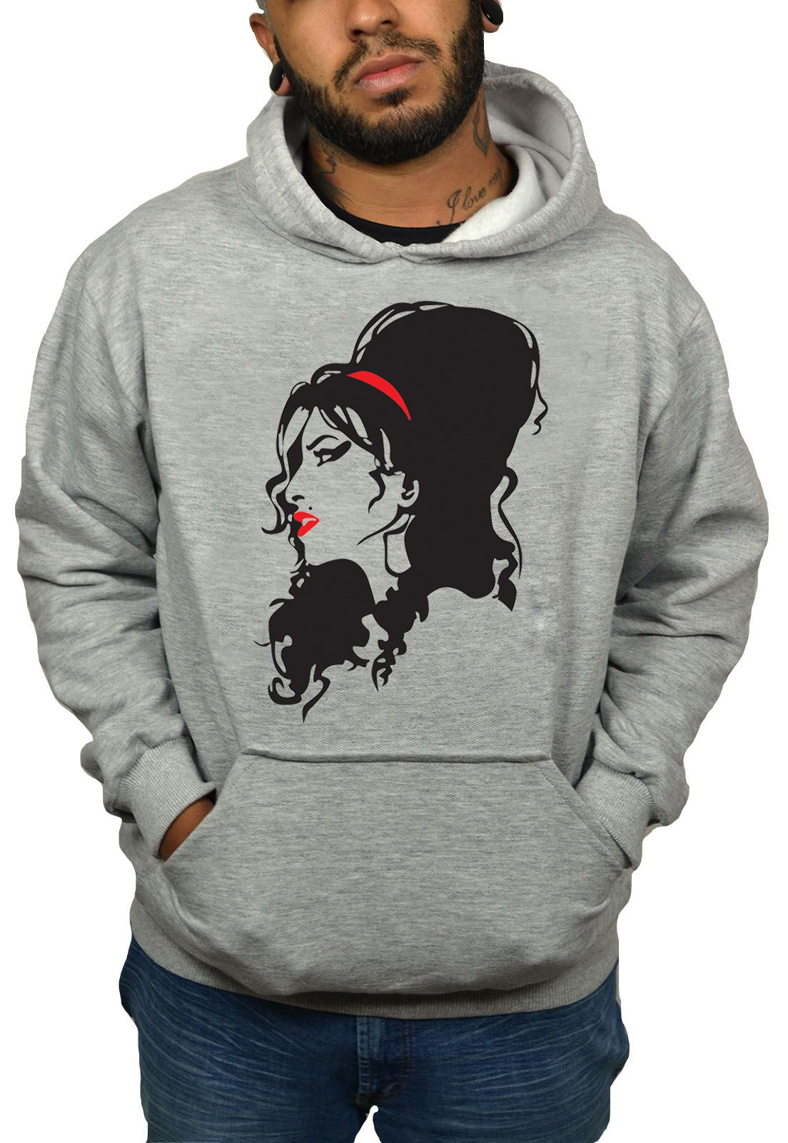 Moletom Hshop Amy Winehouse  - HShop