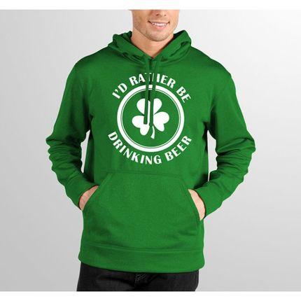 Moletom Hshop Beer Trevo - Verde Bandeira  - HShop