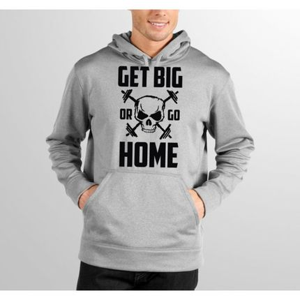 Moletom HShop Get Big Or Go Home  - HShop
