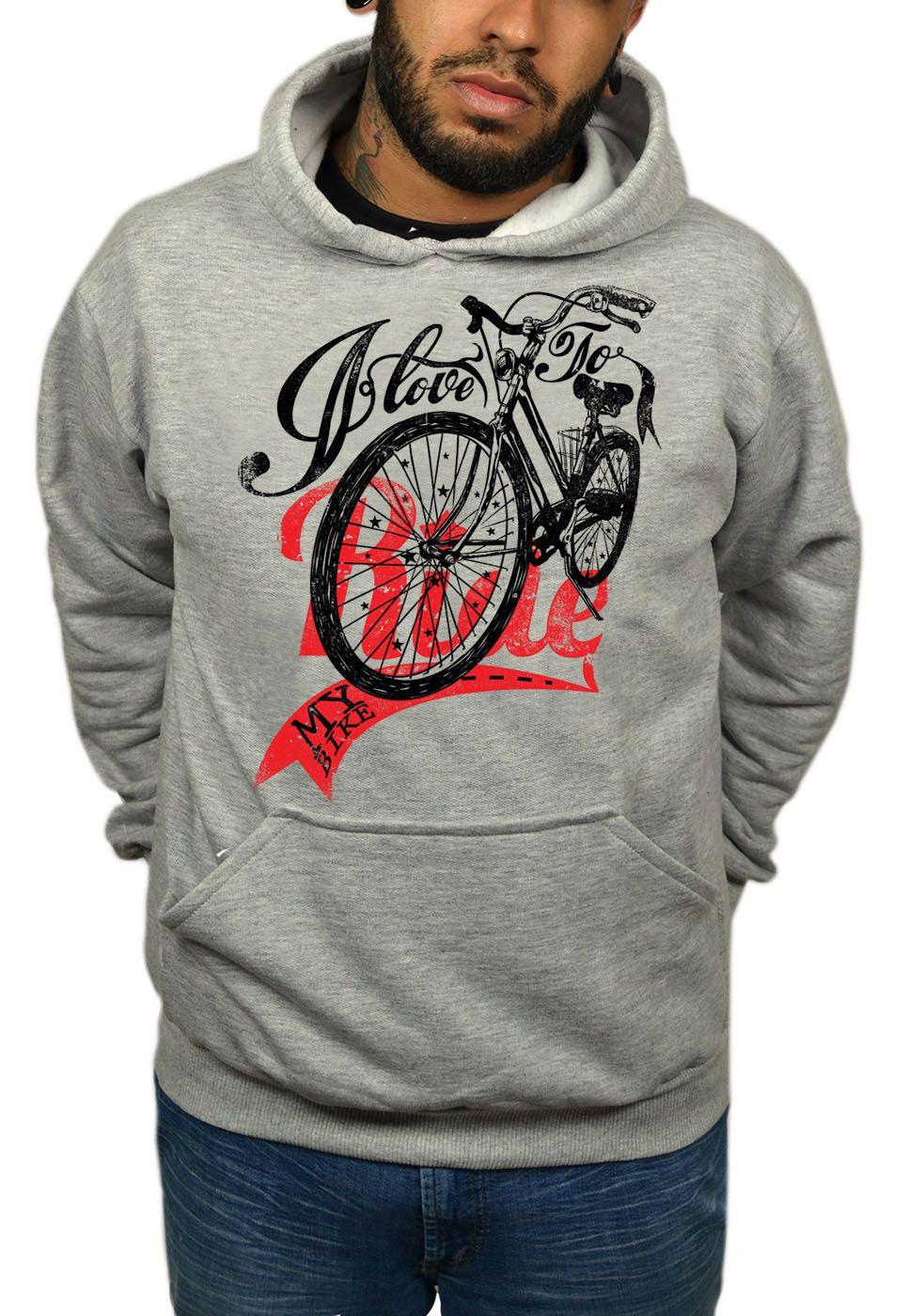 Moletom HShop Love My Bike  - HShop