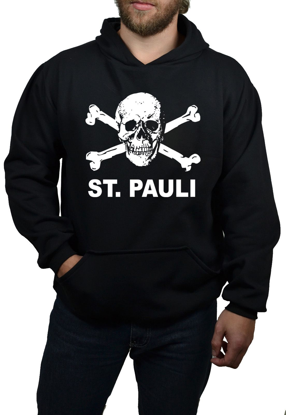 Moletom Hshop St. Pauli - Preto  - HShop