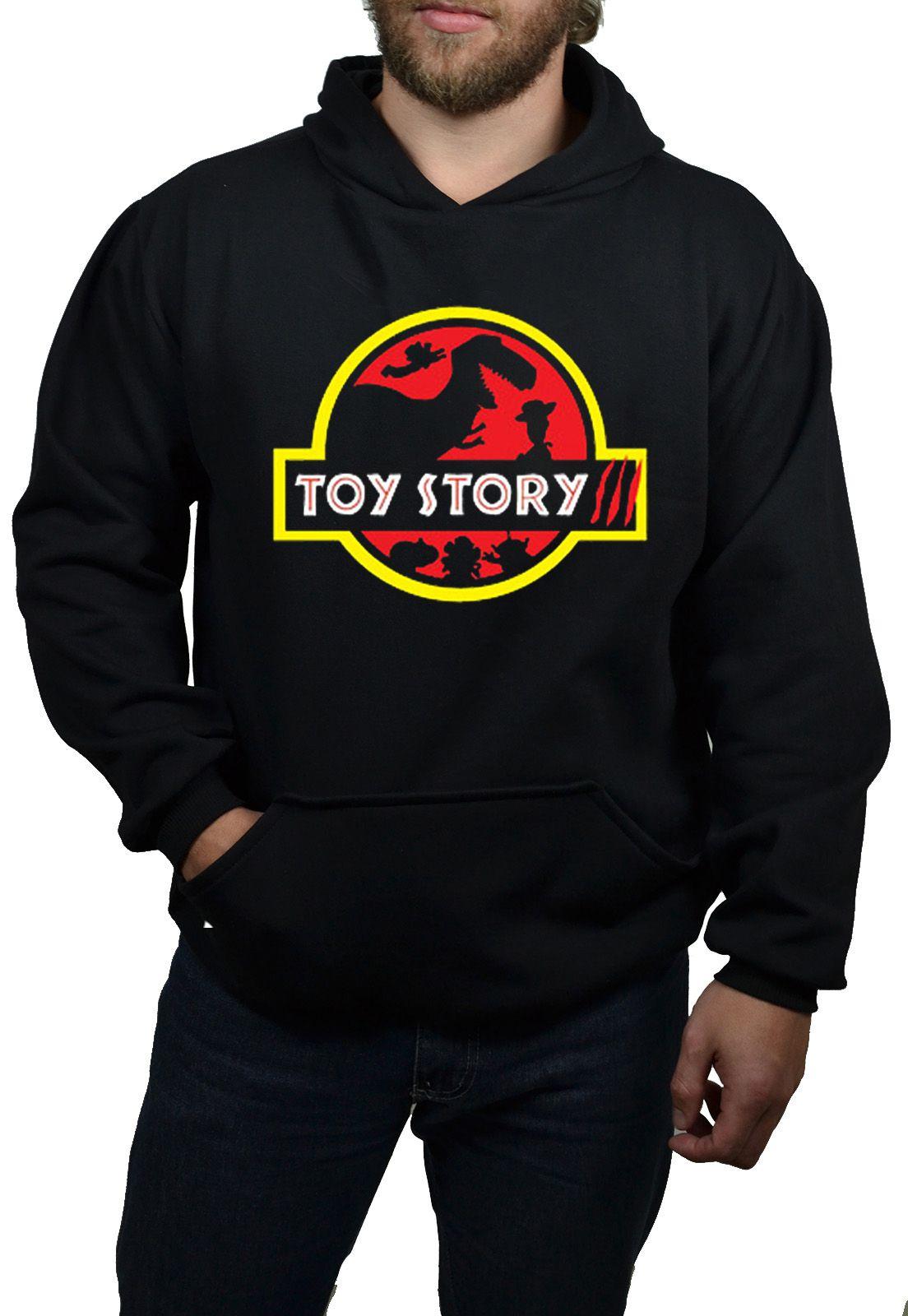 Moletom HShop Toy Story - Preto - Masculino  - HShop
